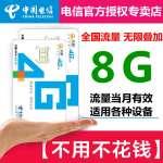 中国电信全国流量物联网卡上网卡35元/8G