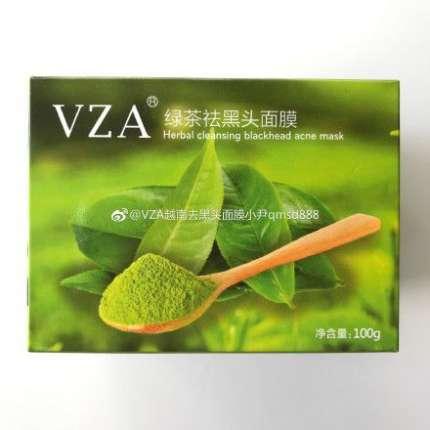 VZA绿茶祛黑头面膜,全国招代理